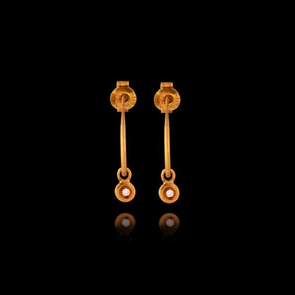 Σκουλαρίκια κρίκοι σε χρυσό