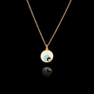 Μενταγιόν Μάτι σε Χρυσό