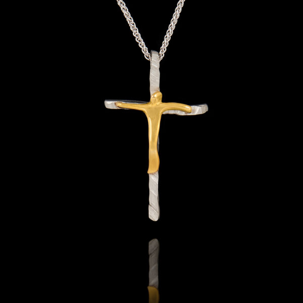 Σταυρός σε Λευκόχρυσο και Χρυσό