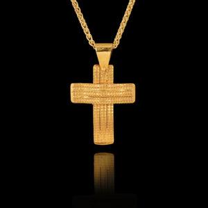 Χειροποίητος Σταυρός σε Χρυσό 18Κ