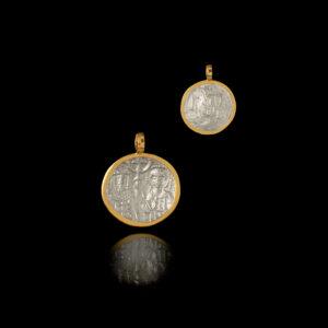 Κωνσταντινάτο σε Ασήμι και Χρυσό - KO143N