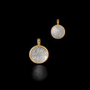 Κωνσταντινάτο σε Ασήμι και Χρυσό - KO146N